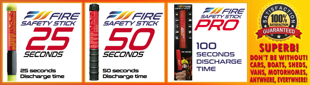 Fire Safety Stick Extinguishers