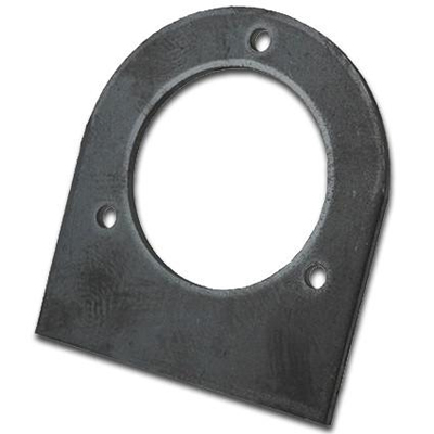 Steel Remote Fuel Filler Weld On Mounting Tab