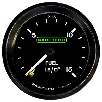 Racetech Fuel Pressure Gauge Mechanical