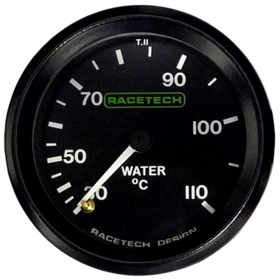 Racetech Water Temperature Gauge Mechanical