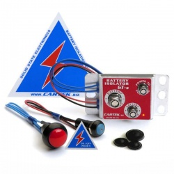 Cartek GT Battery Isolation Kit Red External Button