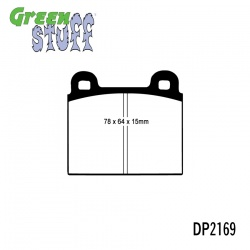 EBC Greenstuff DP2169 Brake Pad Set
