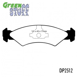 EBC Greenstuff DP2512 Brake Pad Set