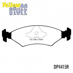EBC Yellowstuff DP4415R Brake Pad Set