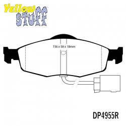 EBC Yellowstuff DP4955R Brake Pad Set