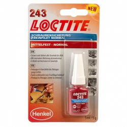 Loctite 243 Threadlocker Medium Strength 5ml