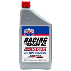 Lucas SAE 10W-40 Synthetic Racing Oil 1 Quart