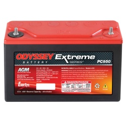 Odyssey Extreme Racing 30 Battery PC950