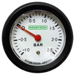 Racetech Boost Pressure Gauge Mechanical