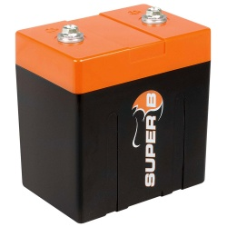 Super B SB10P Lithium Battery