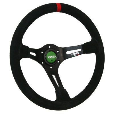 Vento Vendetta Steering Wheel Black Suede